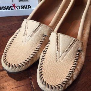 Minnetonka moccasins, size 7